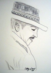 Artist sketch of Mr. Dolan