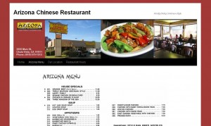 arizona chinese
